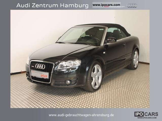 2008 Audi A4 Cabriolet 32 Fsi Quattro Tiptronic S Line Car Photo