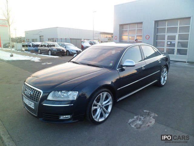 2008 Audi  S8 5.2 FSI Quat. LUFT./EXCLUSIVE/20 CUSTOMS Limousine Used vehicle photo