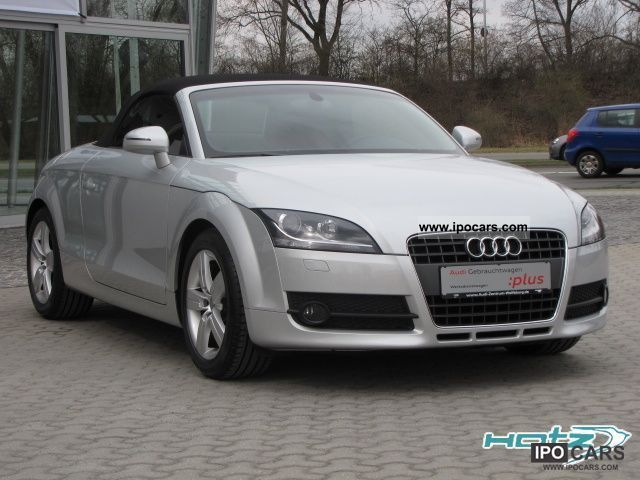 2010 audi tt roadster 1 8 tfsi xenon leather climate car photo and specs. Black Bedroom Furniture Sets. Home Design Ideas