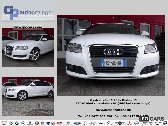 2008 Audi  A3 SPB. 2.0 TDI F.AP. S-LINE Small Car Used vehicle photo