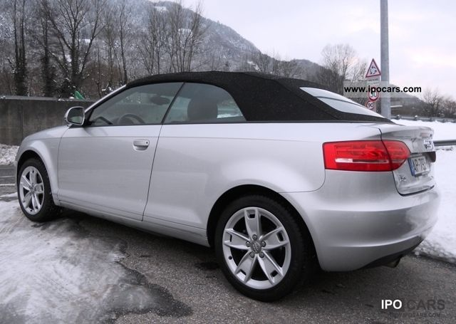2010 audi 1 6 tdi 105 dpf ambition 2p a3 cabriolet car photo and specs. Black Bedroom Furniture Sets. Home Design Ideas