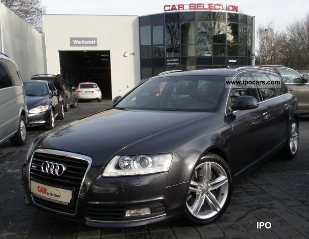 2009 audi a6 avant 3 0 tdi s line alu air xenon leather navi car photo and specs. Black Bedroom Furniture Sets. Home Design Ideas