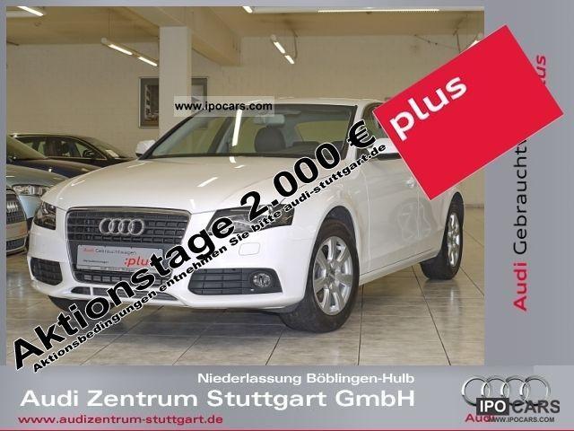 2010 Audi  A4 2.0 TDI 105 kW xenon atmosphere * WHITE * Limousine Used vehicle photo