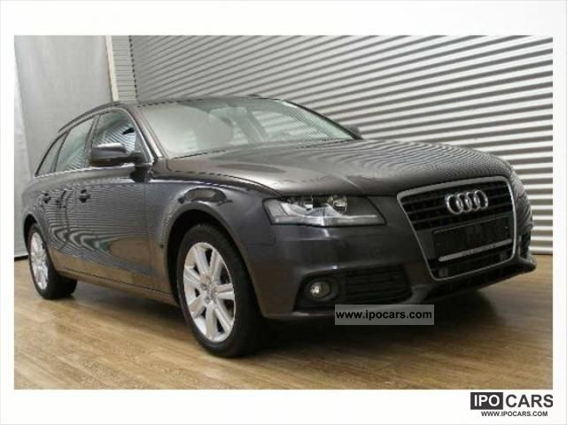 2009 audi a4 v6 2 7 tdi 190 dpf ambition car photo and specs. Black Bedroom Furniture Sets. Home Design Ideas