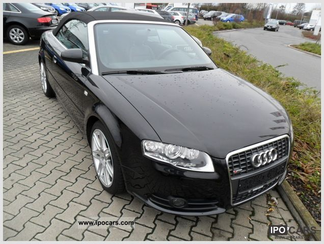 2009 audi a4 cabriolet 1 8t s line car photo and specs. Black Bedroom Furniture Sets. Home Design Ideas