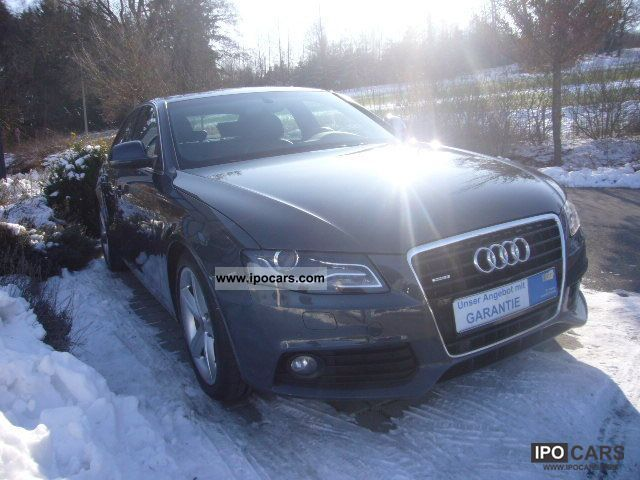 2008 audi a4 3 2 quattro s line sedan with top features car photo and specs. Black Bedroom Furniture Sets. Home Design Ideas