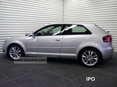 2011 Audi  A3 2.0 TFSI quattro Ambition Limousine Employee's Car photo
