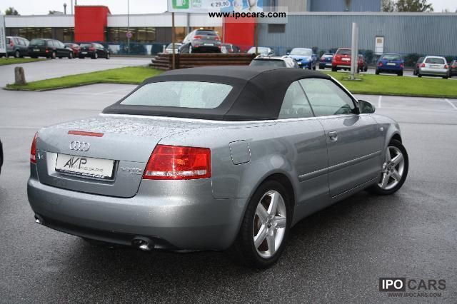 2008 audi a4 cabriolet 3 0 tdi quattro xenon leather shz. Black Bedroom Furniture Sets. Home Design Ideas