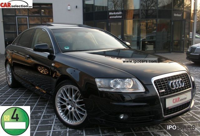 2008 Audi  A6 3.0TDI S LINE PLUS LUFT/XENON/LEDER/18ZOLL Limousine Used vehicle photo