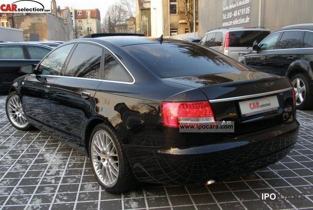 2008 Audi A6 30TDI S LINE PLUS LUFTXENONLEDER18ZOLL  Car