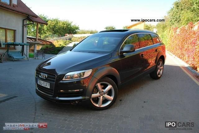 2007 audi q7 3 0 tdi serwisowany car photo and specs. Black Bedroom Furniture Sets. Home Design Ideas