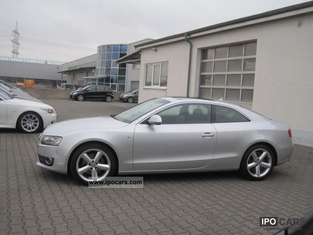 2009 audi a5 2 7 tdi s line leather panoramic alu18 car photo and specs. Black Bedroom Furniture Sets. Home Design Ideas