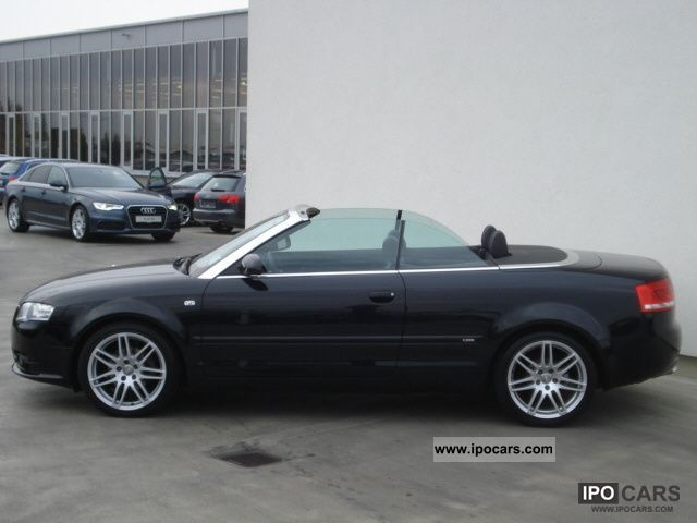 2008 audi a4 cabriolet s line dvd navigation system air. Black Bedroom Furniture Sets. Home Design Ideas