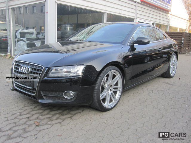 2009 audi a5 coupe 2 7 tdi cr s line xenon car photo. Black Bedroom Furniture Sets. Home Design Ideas
