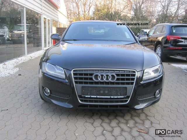 2009 audi a5 coupe 2 7 tdi cr s line xenon car photo and specs. Black Bedroom Furniture Sets. Home Design Ideas