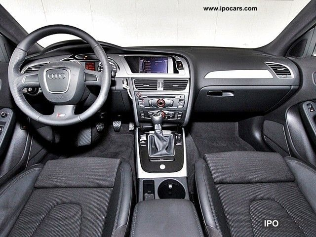 2010 audi a4 2 0 tdi s line seats xenon u v m car photo. Black Bedroom Furniture Sets. Home Design Ideas