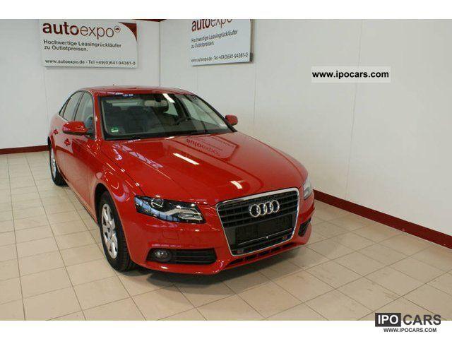 2010 Audi  A4 2.0 TDI multitronic ambience, APS, GPS, Limousine Used vehicle photo