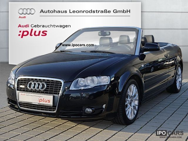 2008 audi a4 cabriolet s line 2 0 tdi sport leather nav. Black Bedroom Furniture Sets. Home Design Ideas