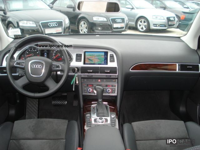 2009 audi mmi navigation plus a6 sedan air leather sitzhe car photo and specs. Black Bedroom Furniture Sets. Home Design Ideas