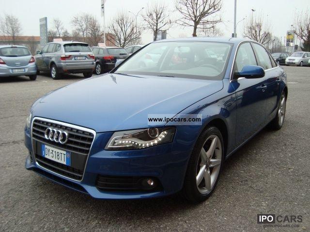 2009 Audi  A4 2.0 Advanced (Advan.Plus) Tiptr. Limousine Used vehicle photo