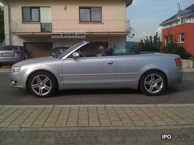 2008 audi a4 cabriolet car photo and specs. Black Bedroom Furniture Sets. Home Design Ideas