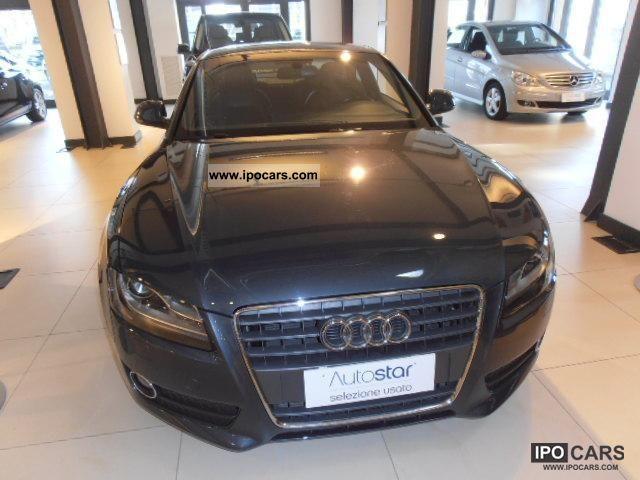 2008 Audi  A5 2.7 V6 TDI Multitronic Sports car/Coupe Used vehicle photo