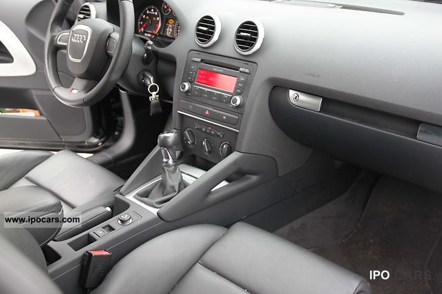 2010 audi a3 cabriolet 1 6 s line sports package plus. Black Bedroom Furniture Sets. Home Design Ideas