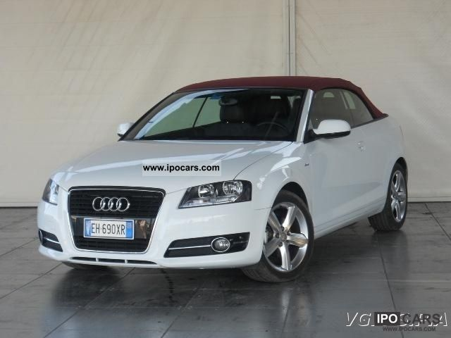 2011 audi a3 convertible 2 0 tdi s line ambition fap car photo and specs. Black Bedroom Furniture Sets. Home Design Ideas