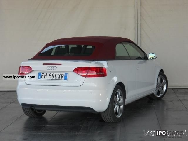 2011 audi a3 convertible 2 0 tdi s line ambition fap car. Black Bedroom Furniture Sets. Home Design Ideas