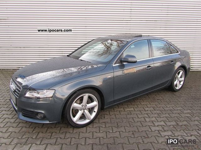 2008 Audi  A4 2.7TDi Multitr. S-Line Navi Bang Olufsen Limousine Used vehicle photo