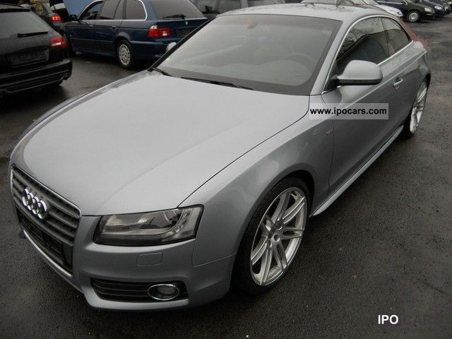 2009 Audi  A5 2.7 TDI DPF multitol. S-LINE/Navi/Leder/PDC/20 Sports car/Coupe Used vehicle photo