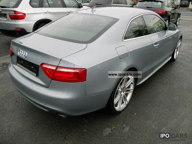 2009 audi a5 2 7 tdi dpf multitol s line navi leder pdc 20 car photo and specs. Black Bedroom Furniture Sets. Home Design Ideas