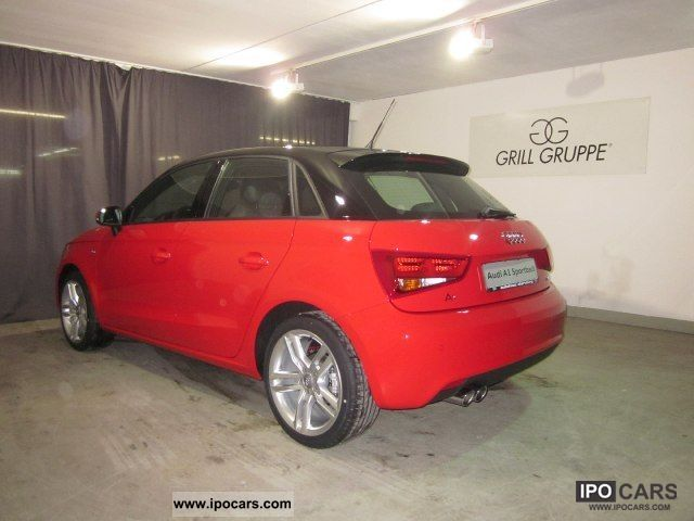 2011 audi a1 sportback 1 4 tfsi s line 90 122 kw ps s. Black Bedroom Furniture Sets. Home Design Ideas