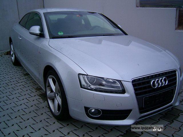 2009 Audi  A5 2.7 TDI S-Line Multitronic Sports car/Coupe Used vehicle photo