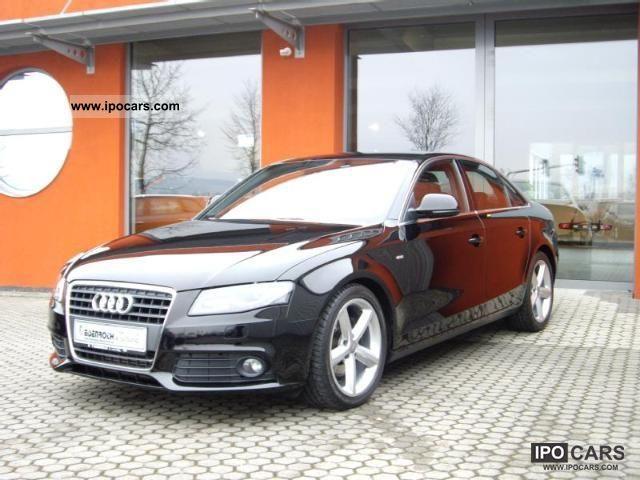 2008 Audi  A4 S-Line sedan xenon, partial leather, etc. Limousine Used vehicle photo