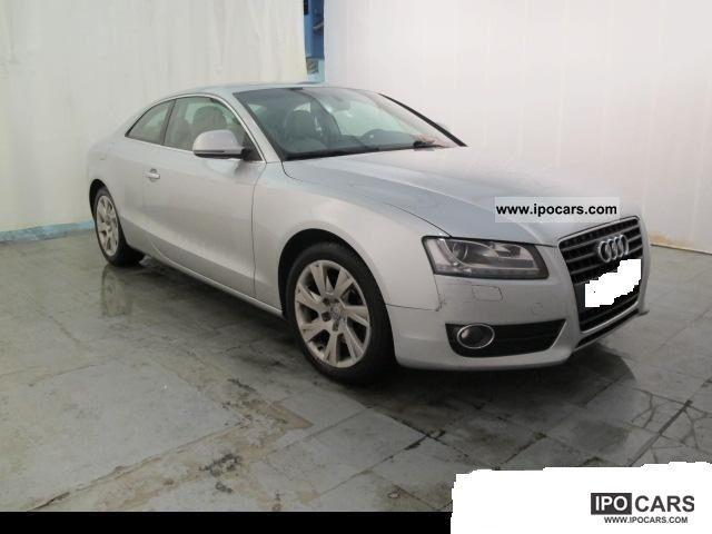 2009 Audi  A5 2.7 V6 TDI 190 DPF Multitronic setting A Sports car/Coupe Used vehicle photo