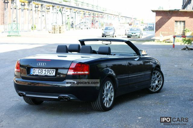 2006 audi s4 cabriolet car photo and specs. Black Bedroom Furniture Sets. Home Design Ideas