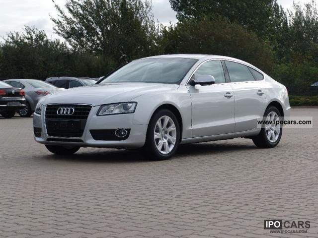 2011 Audi  A5 Sportback 1.8 TDI, 118 kW 6-speed (model ... Limousine New vehicle photo