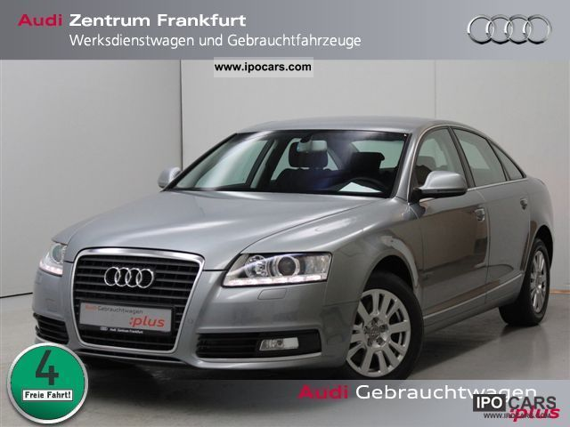 2010 Audi  A6 Saloon 2.7 TDI Navi Xenon PDC cruise control Sit Limousine Used vehicle photo