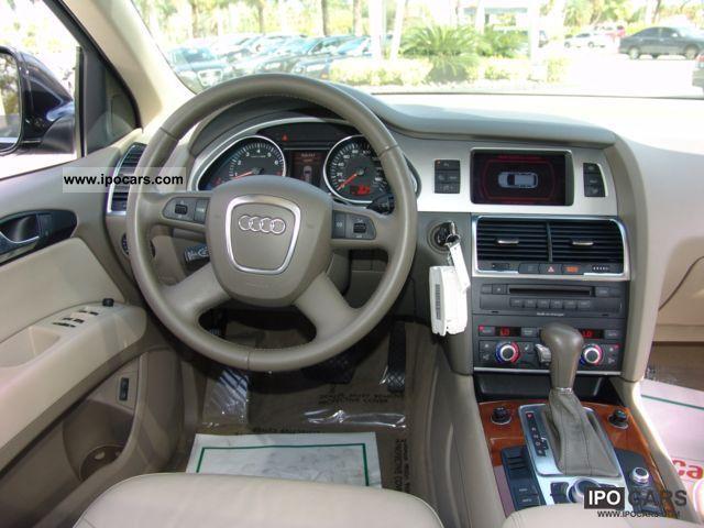 2008 Audi Q7 3 6 Fsi Quattro Tiptronic Off Road Vehicle Pickup Truck Used