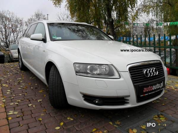 2008 Audi  A6 DOOR-TO-DOOR DELIVER / francais / German Estate Car Used vehicle photo