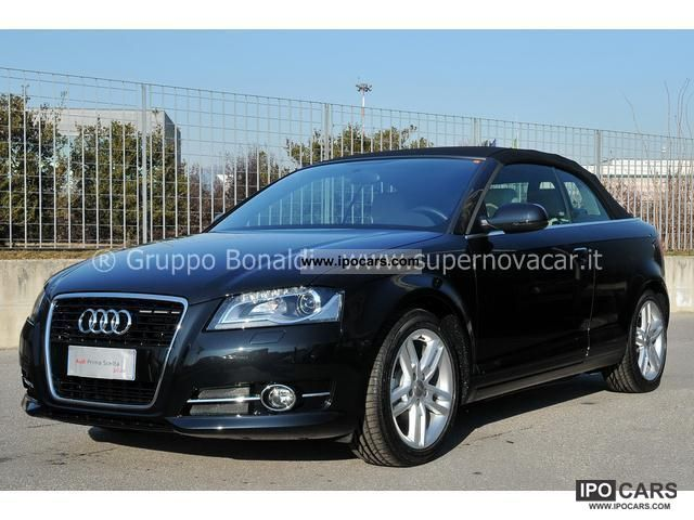 2012 Audi  A3 Convertible 1.6 TDI CR F.AP Young Edition Cabrio / roadster Used vehicle photo