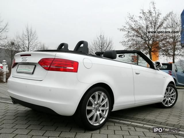 2010 audi a3 cabriolet s line car photo and specs. Black Bedroom Furniture Sets. Home Design Ideas