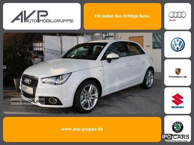 2011 Audi  A1 Sportback 1.4 TFSI S line ** Navi Xenon SHZ ** Limousine New vehicle photo