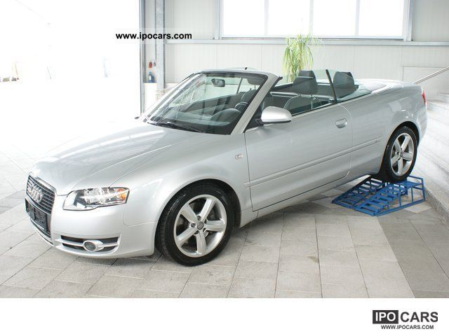 2006 audi a4 cabriolet 2 7 tdi s line multitronic bose. Black Bedroom Furniture Sets. Home Design Ideas