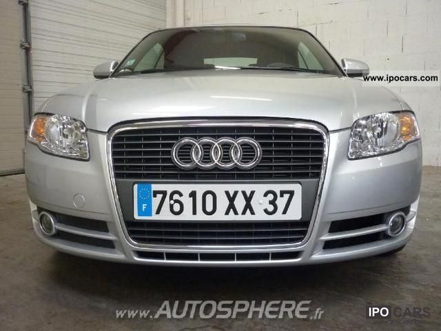 2008 Audi  A4 Cab 2.0 TDI140 DPF Design Edition Off-road Vehicle/Pickup Truck Used vehicle photo