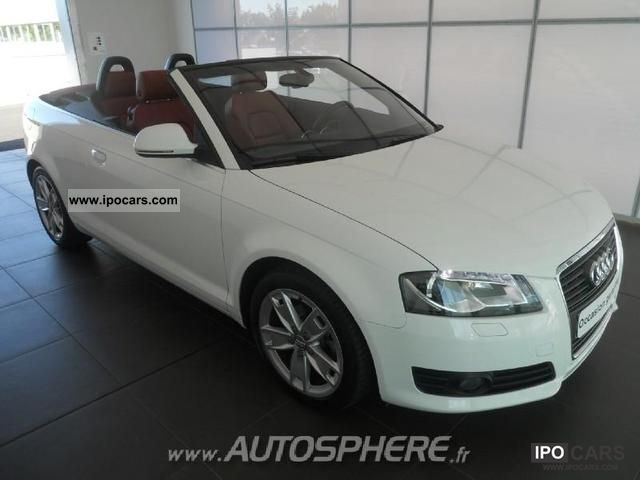 2010 audi a3 cabriolet 1.6 tdi ambition luxe s - car photo and specs