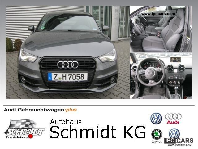 2012 Audi  A1 Ambition S-Line 3-door 1.4 TFSI S tronic Limousine Employee's Car photo