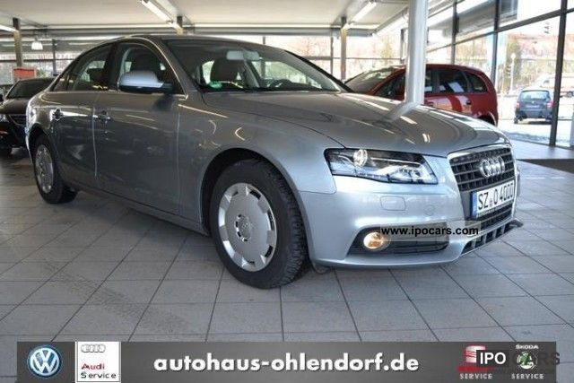 2011 Audi  A4 Saloon 2.0 TDI PDC seats Limousine Employee's Car photo