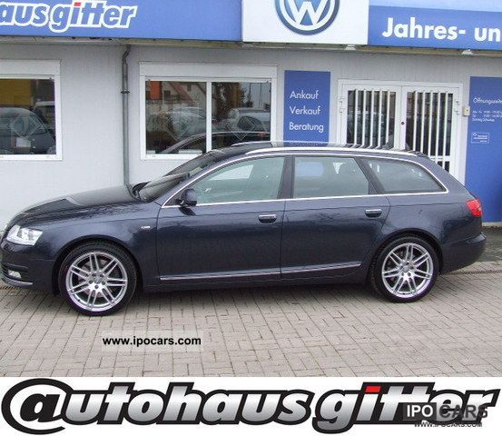 2009 Audi  A6 AVANT QUATTRO XENON 4.2 FSI S-LINE Estate Car Used vehicle photo